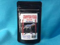 CRAYFISH  FOOD  SMALL 50g
